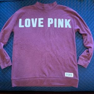 PINK Lounge Pullover